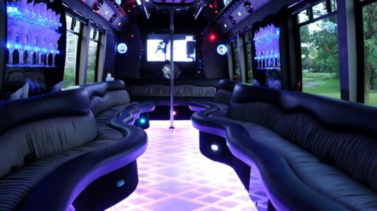 20 Passenger Party Bus Eagan Mn Interior