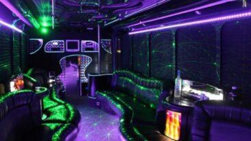 30 Passenger Party Bus Eagan Mn Interior