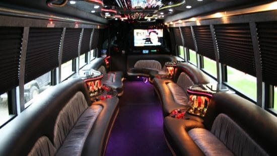 40 Passenger Party Bus Eagan Mn Interior