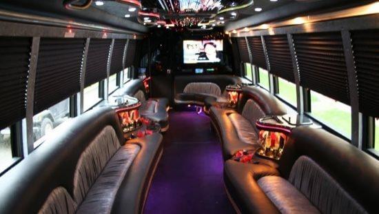 40 Passenger Party Bus Eden Prairie Mn Interior