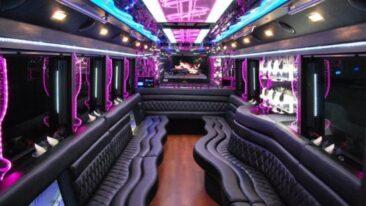 50 Passenger Party Bus Maplewood Mn Interior